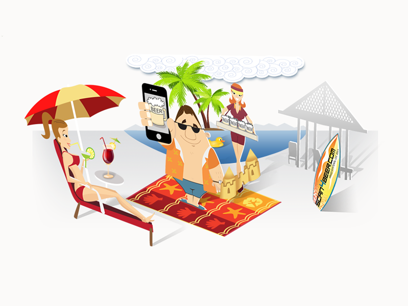 Resort mobile POS